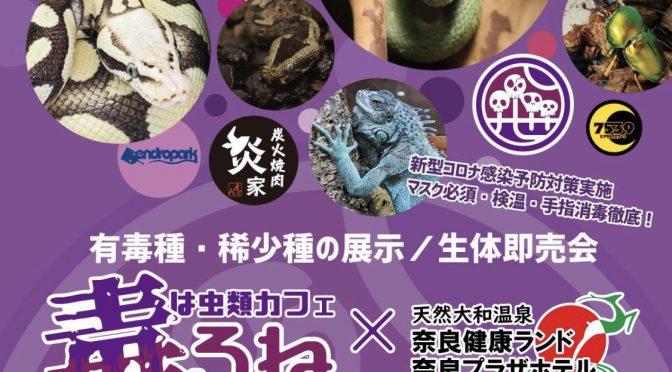 【イベント情報】11月22日毒ろねin奈良健康ランド